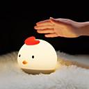 Χαμηλού Κόστους Ράφια & Στγρίγματα-1pc Νυχτικό φως νυχτών / Φώτα νύχτας μωρών & παιδιών Θερμό Λευκό / Ψυχρό Λευκό USB Για παιδιά / Κινούμενα σχέδια / Με θύρα USB <5 V