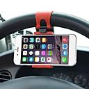 billiga Växelspaksknoppar-Universell bilratt Cykelklämma Gummibandfäste för iPhone för Samsung för Lenovo mobiltelefonhållare