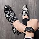 ราคาถูก รองเท้าแตะ & Loafersสำหรับผู้ชาย-สำหรับผู้ชาย รองเท้าหนังนิ่ม หนังนิ่ม ฤดูร้อนฤดูใบไม้ผลิ / ฤดูใบไม้ร่วง & ฤดูหนาว ธุรกิจ / ไม่เป็นทางการ รองเท้าส้นเตี้ยทำมาจากหนังและรองเท้าสวมแบบไม่มีเชือก วสำหรับเดิน ระบายอากาศ สีดำ / พรรคและเย็น