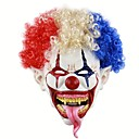 Χαμηλού Κόστους ανεμιστήρας-Τζόκερ ανατριχιαστικό κακό τρομακτικό Απόκριες κλόουν μάσκα ενηλίκων φεστιβάλ φάντασμα