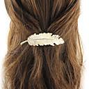 baratos Jóias de cabelo-Mulheres Na moda Fashion Chapeado Dourado Acessórios de Cabelo Escola Festival