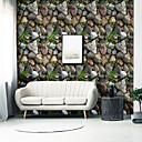 povoljno Zidne tapete-tapeta Vinylal Zidnih obloga - Samoljepljivo Art Deco / Kamen