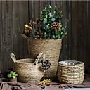 billige Stativer og holdere-1pc Rund Planter Rustikt