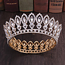 cheap Party Headpieces-Alloy Tiaras with Rhinestone 1 Piece Special Occasion Headpiece