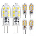 povoljno Ručni tuš-zdm 6 pack g4 2.5w led žarulja 2835 led bi-pin g4 baza 20w halogenska žarulja zamjena toplom bijelom / hladnom bijelom dc12v