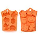 billige Stativer og holdere-1pc silica Gel 3D Halloween GDS For kjøkkenutstyr Cake Moulds Bakeware verktøy