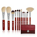 billige Sminkebørstesett-Profesjonell Makeup børster 12pcs Myk Bedårende comfy Tre / Bambus til Sminkebørste