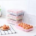 baratos Frascos e Caixas-Alta qualidade com Plásticos Caixas de Armazenamento Multifunções / para ovos Cozinha Armazenamento 1 pcs