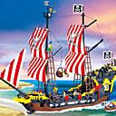 Χαμηλού Κόστους Building Blocks-ENLIGHTEN Μαγνητικό μπλοκ Μαγνητικά πλακίδια Τουβλάκια Πειρατής Πλοίο Γιούνισεξ Αγορίστικα Κοριτσίστικα Παιχνίδια Δώρο / Παιδικά