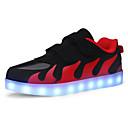 Χαμηλού Κόστους Παιδικά αθλητικά παπούτσια-Αγορίστικα LED / Φωτιζόμενα παπούτσια PU Αθλητικά Παπούτσια Μεγάλα παιδιά (7 ετών +) Πούλιες / LED Λευκό / Κόκκινο / Ροζ Φθινόπωρο / Χειμώνας / Καοτσούκ