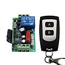 baratos Ferragens para Portas e Fechaduras-Ac220v 1ch sem fio código de aprendizagem interruptor de controle remoto / 10a relé receptor / lâmpada / luz de alimentação on off controlador 433 mhz