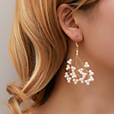 Χαμηλού Κόστους Σκουλαρίκια-Γυναικεία Σκουλαρίκι Ștrasuri Δέντρο της ζωής Απομίμηση Μαργαριταριού Σκουλαρίκια Κοσμήματα Χρυσό Για Γάμου Αρραβώνας Απόκριες Κλαμπ 1 Pair