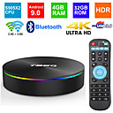 billige TV-bokser-t95q android 8.1 set top box 4 gb 32 gb smart iptv 4k hd ddr3 amlogic s905x2 quad core 2.4g& 5g dual wifi h.265 hjemmemediaspiller