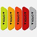 billige Automotive Kroppsdekorasjon og beskyttelse-4stk bildør åpen klistremerke refleksbånd sikkerhetsadvarsel dekaler ripesikker forebygging universell