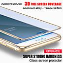 baratos Utensílios de Cozinha-3d liga completa de liga de alumínio de vidro temperado para iphone 6 6 s 7 plus 5 5S se vidro temperado no iphone 8 7 6 filme protetor de tela