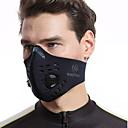 baratos Toucas & Máscaras-Máscara Desportiva Máscara Facial Meia máscara facial com filtro Neoprene Corrida Equitação Snowboard Moto / Ciclismo Ajustável Prova-de-Água A Prova de Vento 1 Pça. Inverno Clássico Moderno Carbono