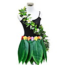 povoljno Plesni kostimi-Havajski Kostim Žene Noviteti Halloween Seksi blagdanski kostimi Tematska zabava Kostimi Žene Plesni kostimi Poliester Isprepleteni dijelovi