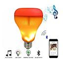povoljno Ručni tuš-LED glazbena žarulja sa žaruljom s efektom plamena rgb svjetiljka za promjenu bežična stereo audio svjetiljka s daljinskim upravljačem