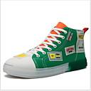 Χαμηλού Κόστους Αντρικά Αθλητικά-Ανδρικά Παπούτσια άνεσης Πανί Καλοκαίρι Αθλητικά Παπούτσια Διατηρείτε Ζεστό Συνδυασμός Χρωμάτων Πράσινο και Μπλε / Μαύρο / Κίτρινο / Πορτοκαλί