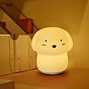 billige Jars & Boxes-1pc Nursery Night Light / Baby & Kids 'Night Lights Varm hvit / Kjølig hvit Usb For barn / Tegneserie / Med USB-port <5 V