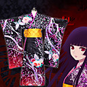 povoljno Anime kostimi-Inspirirana Hell Girl Enma Ai Anime Cosplay nošnje Japanski Cosplay Suits Kimono Dlaka / Traka / vrpca Za Žene