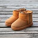 Χαμηλού Κόστους Παιδικές μπότες-Κοριτσίστικα Μπότες Χιονιού Σουέτ Μπότες Τα μικρά παιδιά (4-7ys) Φούξια / Καφέ / Χακί Χειμώνας / Μποτίνια