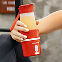 Χαμηλού Κόστους Animale de Pluș-Μπουκάλι αποχυμωτή φρούτων 0.35 L Μονό Φορητό Πτυσσόμενο Ανθεκτικό Για 1 άτομο Πλαστικά Κράμα ΕΞΩΤΕΡΙΚΟΥ ΧΩΡΟΥ Κατασκήνωση & Πεζοπορία Για Υπαίθρια Χρήση Πικνίκ Κόκκινο Ροζ