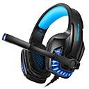 baratos Ferragens para Portas e Fechaduras-Kotion cada g9100 fones de ouvido de jogos com microfone de luz estéreo graves graves fone de ouvido para pc computador gamer laptop com fio fone de ouvido