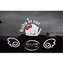 baratos Camera Bags & Cases-Bebê no carro letras acenando bebê a bordo do sinal de segurança do carro decalque adesivo
