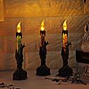 זול פנימית נורות לילה-קישוטים לחג ליל כל הקדושים קישוטים חג ליל כל הקדושים / ליל כל הקדושים מבדרים עיצוב מיוחד / אור LED / Party סגול / כתום / ירוק 1pc
