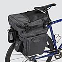 Χαμηλού Κόστους Τσάντες για σκελετό ποδηλάτου-36 L Τσάντα αποσκευών για ποδήλατο / Διπλή τσάντα σέλας ποδηλάτου Αδιάβροχη Φορητό Φοριέται Τσάντα ποδηλάτου 600D πολυεστέρα Αδιάβροχο υλικό Τσάντα ποδηλάτου Τσάντα ποδηλασίας Ποδηλασία
