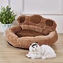 Χαμηλού Κόστους Κρεβάτια & Κουβέρτες σκυλιών-Σκυλιά Κουνέλια Γάτες Στρώμα Επιφάνειας Κρεβάτια Κουβέρτες κρεβατιών Χαλάκια & Μαξιλαράκια Ύφασμα Χνουδωτό Ύφασμα Χνουδωτό Συνδυασμός Χρωμάτων Χακί