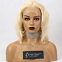 Χαμηλού Κόστους Χωρίς κάλυμμα-premierwigs glueless δαντέλα μπροστά περούκες βραζιλιάνικη remy ανθρώπινη τρίχα ξανθιά ombre καφέ χρώμα 150% πυκνότητα σώματος κύματος με προετοιμασμένη φυσική hairline μαλλιά μωρών