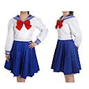 povoljno Anime kostimi-Inspirirana Sailor Moon Cookie Anime Anime Cosplay nošnje Japanski Cosplay Suits Jedna barva Dugih rukava Shirt / Top / Luk Za Žene