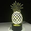 baratos Luzes da noite 3D-o abacaxi conduziu a lâmpada da ilusão ótica das cores 3d da luz 7 da noite para a lâmpada de mesa do quarto