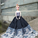 povoljno Dodaci za lutku-Haljina za lutke 3 pcs Za Barbie Čipka Poliester Haljina Za Djevojka je Doll igračkama