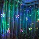 baratos Lâmpadas LED em Forma de Espiga-3M Cordões de Luzes 138 LEDs Multicolorido Decorativa 220-240 V 1conjunto