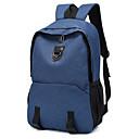 baratos Sapatos Esportivos Masculinos-Homens / Unisexo Ziper mochila Grande Capacidade Poliéster Côr Sólida Preto / Roxo / Azul