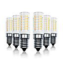 billiga Glödlampor-LOENDE 6pcs 7 W LED-lampa 800 lm E14 T 78 LED-pärlor SMD 2835 Bimbar Varmvit Vit 110-130 V 200-240 V