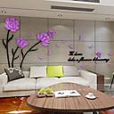 billige Veggklistremerker-Dekorative Mur Klistermærker - 3D Mur Klistremerker Blomstret / Botanisk Stue / Innendørs