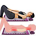 baratos Prateleiras de Banheiro-Almofada massageador massagem mat acupressure aliviar a dor no corpo spike mat acupuntura massagem yoga mat e travesseiro
