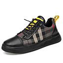Χαμηλού Κόστους Αντρικά Πέδιλα-Ανδρικά Δερμάτινα παπούτσια Νάπα Leather Ανοιξη καλοκαίρι / Φθινόπωρο & Χειμώνας Αθλητικά Παπούτσια Αναπνέει Μαύρο