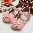 Χαμηλού Κόστους LED Παπούτσια-Κοριτσίστικα Ανατομικό / Λουλουδάτα φορέματα για κορίτσια Μικροΐνα Χωρίς Τακούνι Τα μικρά παιδιά (4-7ys) / Μεγάλα παιδιά (7 ετών +) Περπάτημα Πέρλες Μαύρο / Ροζ / Κρύσταλλο Άνοιξη / Φθινόπωρο