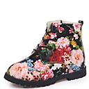 povoljno Dječje čizme-Djevojčice Vojničke čizme Umjetno krzno Čizme Mala djeca (4-7s) Cvijet Crn / Obala Zima
