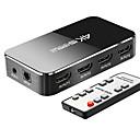 billiga Ljudkablar-LITBest HDMI 2,0 Switcher, HDMI 2,0 till HDMI 2,0 Switcher Hona - hona 1080P Förgyllt koppar <1m / 3ft 2,5 Gbps