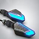 baratos Camisas Para Ciclismo-Motocicleta sinais de volta led lâmpadas luzes de advertência de direção diurna luzes modelsl16