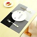 billige Kuvertbrikker-4stk husholdning mote pvc spisebord placemat europa stil hjem kjøkken verktøy servise pad coaster kaffe te sted matte