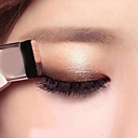 billiga ögonskugga borstar-dubbel färggradient lata ögonskugga makeup palett glitter ögonskugga pallete vattentät glitter ögonskugga skimmer kosmetika