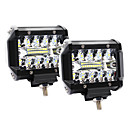 billige Putevar-4 tommers 60w 3 rader ledelys arbeidslys kjører terrenglamper taklistelys - 2stk