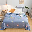 Χαμηλού Κόστους Κουβέρτες & Ριχτάρια-Κουβέρτες κρεβατιών, Φλοράλ / Στάμπα Πολυεστέρας Μαλακό Comfy κουβέρτες